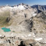 Großartiger Ausblick vom Ankogel zu Hochalmspitze