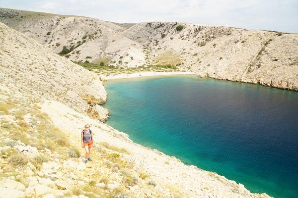 """Die Bucht Vela Draga war uns mit 5 Besuchern deutlich zu """"überlaufen"""" ..."""
