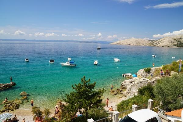 Stara Baska: Neben Baska ein weiterer beliebter aber bei weitem nicht so überlaufender Badeort