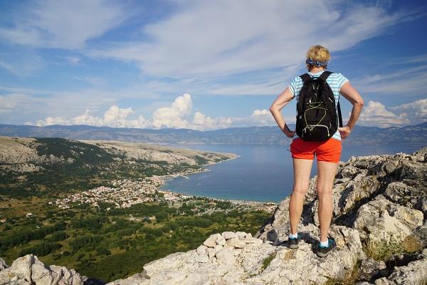 Am Rückweg auf Vrska Glava - ein großartiger Aussichtspunkt