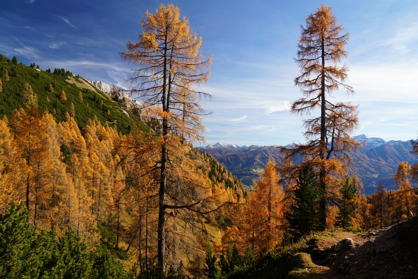 Spätherbststimmung im südlichen Dachsteingebirge