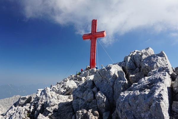 Gipfelkreuz am Großen Priel