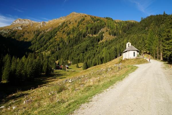Liebliche Kapelle bei der Muritzenalm