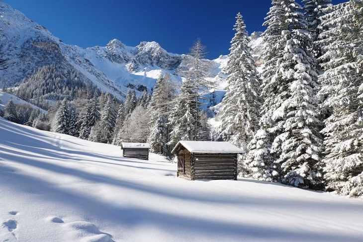 Traumhafte Winterlandschaft im Brandnertal