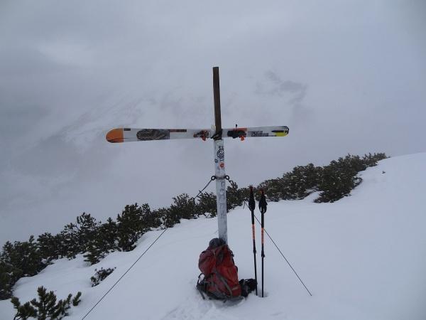 """Beim """"Gipfelkreuz"""" am Plannereck"""