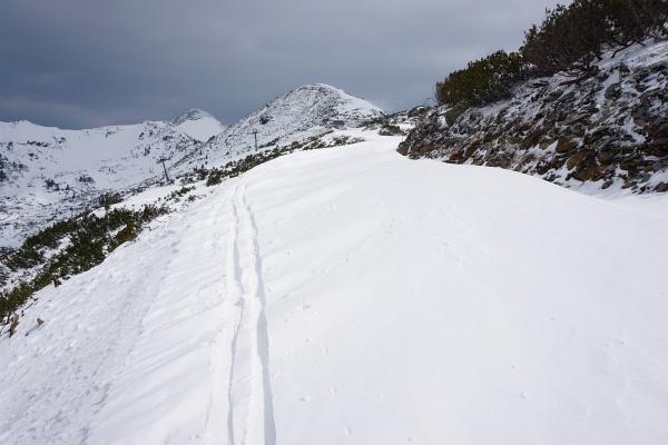 Vor mir die Bergstation der Plannereckbahn. Darüber das Plannereck.