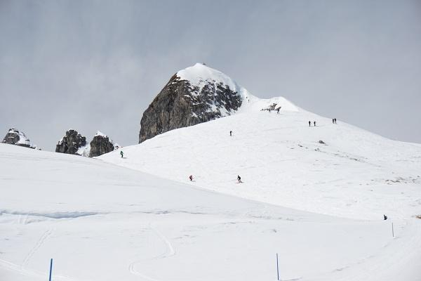Auf den Aufstieg auf´s Gamsspitzl haben wir wind- und überfüllungsbedingt verzichtet.