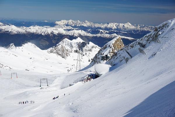 Gletscherjet 4 Bergstation am Kitzsteinhorn