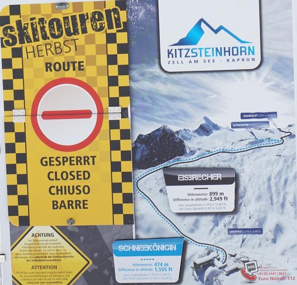 Schneekönigin und Eisbrecher heißen die Skitouren-Routen am Kitzsteinhorn