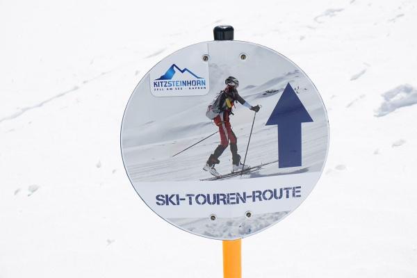 Ski-Touren-Route am Kitzsteinhorn bzw. Maurerkogel