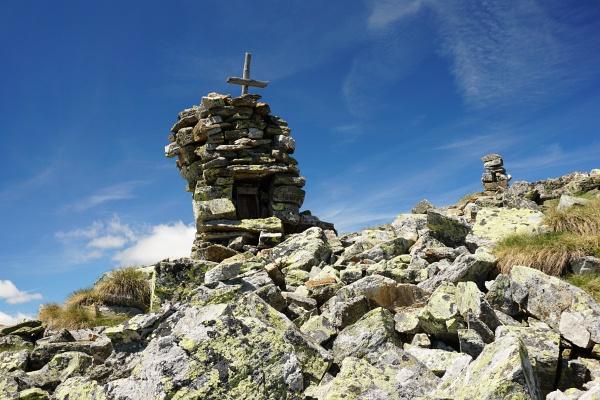 Gipfelkreuz am Grüneck
