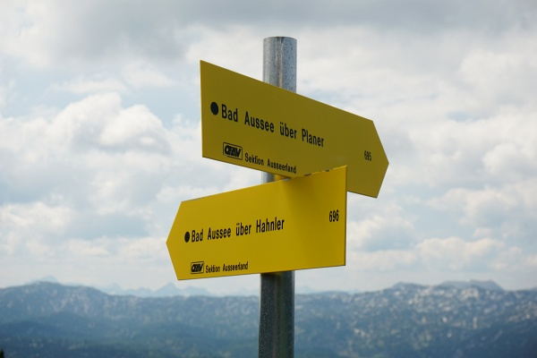 Die 2 Routen lassen sich gut zu einer Rundtour verbinden.