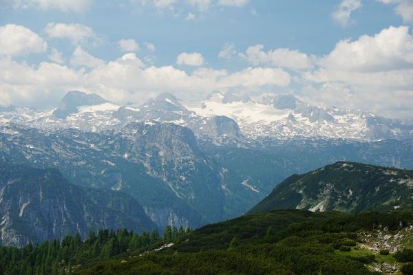 Ausblick zum Dachstein-Gletscher