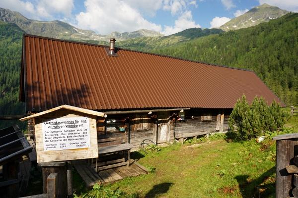Ab der Kaltherberghütte warten neue Landschaftshöhepunkte im 1/2-Stunden-Takt