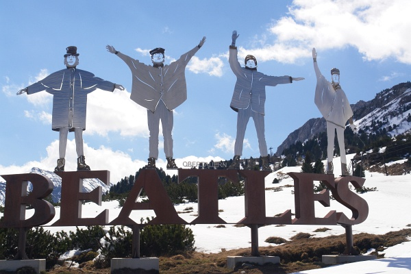 Die Beatles in Obertauern