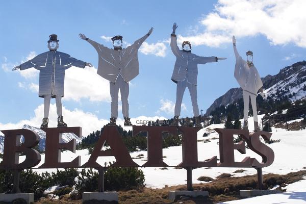 Die Beatles in Obertauern