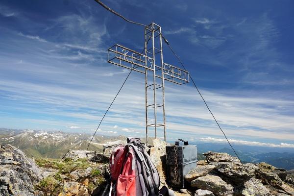 Gipfelkreuz am Schöderkogel