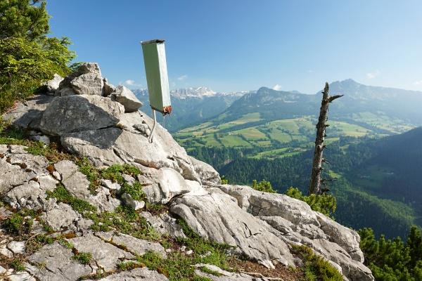 Beim Wandbuch auf knapp 1.200 Meter Höhe