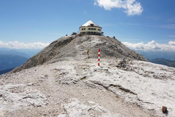 Das Matrashaus am höchsten Punkt des Hochkönigs