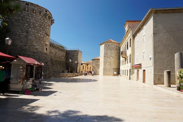 In der historischen Altstadt von Krk