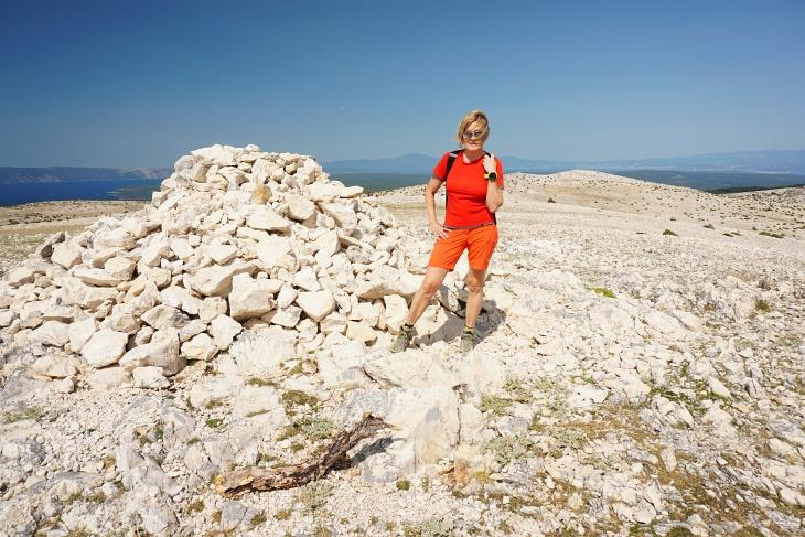 Am Obzova - dem höchsten Gipfel auf der Insel Krk