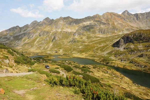 Ausblick von der Ignaz-Mattis-Hütte