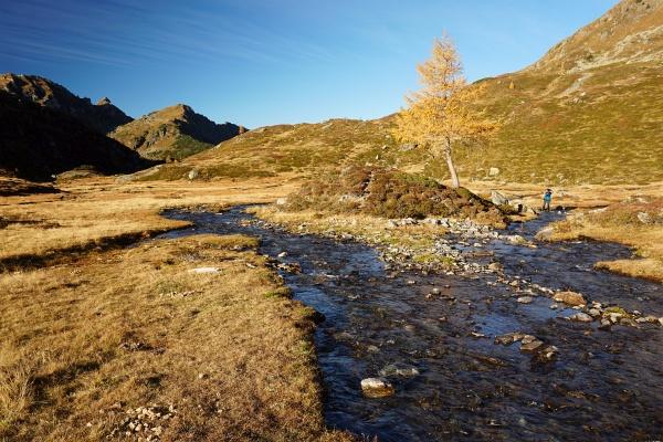 Beim Abstieg unterhalb des Giglachsees
