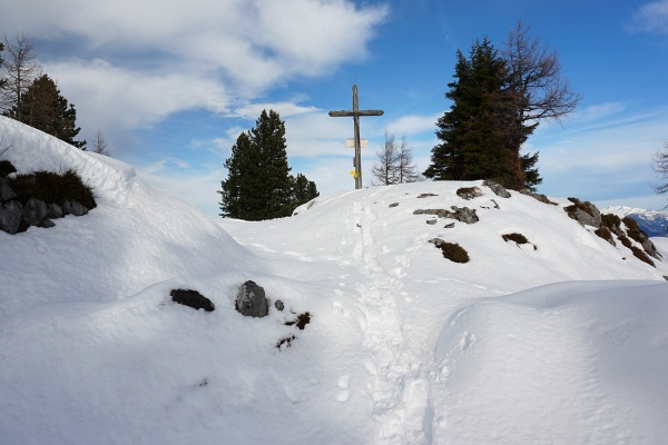 Mein 14. Besuch beim Gipfelkreuz am Hochmühleck