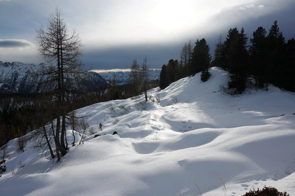 Die nächste Schneefront zieht heran