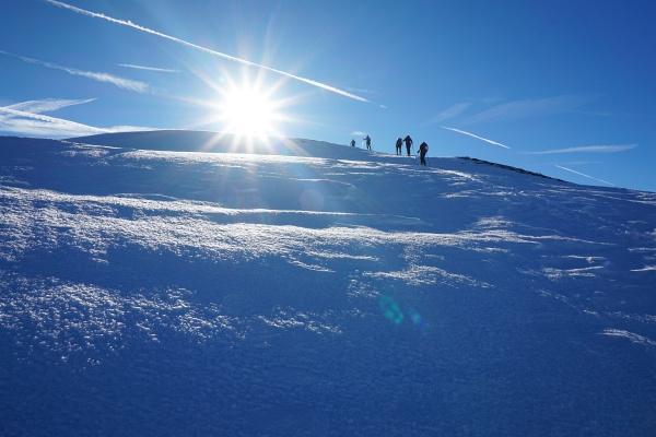 Der letzte Gipfel im Jahr 2017 war ein alter Bekannter: Der Pleschnitzzinken