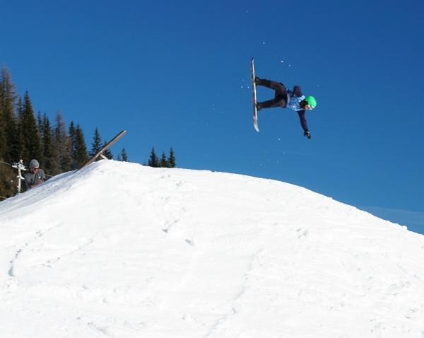 Snowboarder-Eldorado in Flachauwinkl