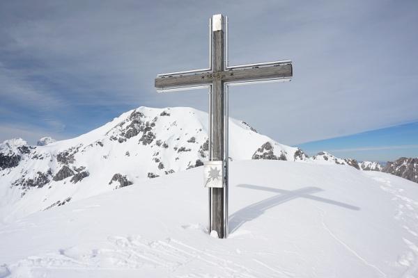 Gipfelkreuz am Grabnerstein