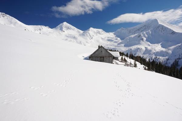 Zurück über Mahdfeldhütte