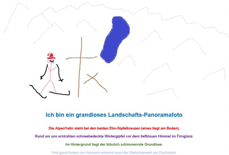 """Eines der """"grandiosen"""" Fotos vom Elm"""