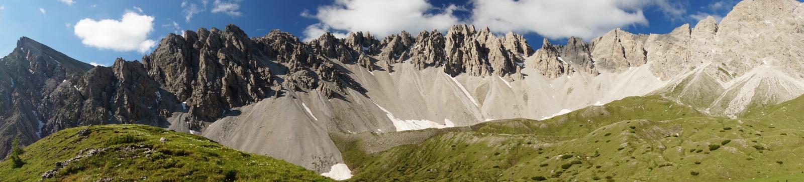 Traumlandschaft in den Lienzer Dolomiten (Klick zur Vergrößerung)