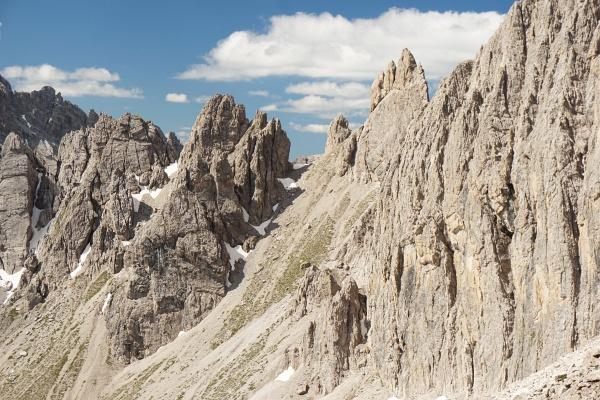 Felsformationen in den Lienzer Dolomiten