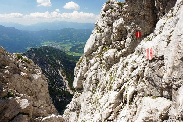 Schöne, einfache Kletterei am Hexensteig