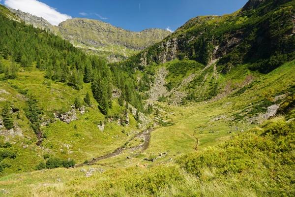 Von der Preintalerhütte geht´s wieder 2 Stunden bergwärts