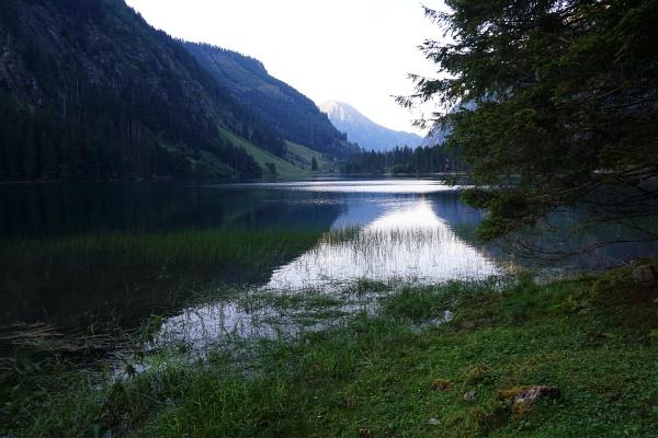 Fast 4 Kilometer sind es noch vom Schwarzensee bis zum Ausgangspunkt bei der Breitlahnhütte.