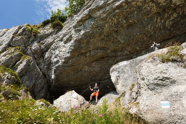 """Bei der Ötscherhöhle namens """"Geldloch"""""""