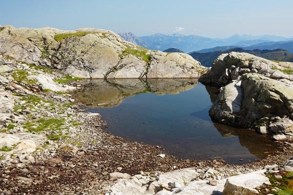 Einer der ersten größeren Seen