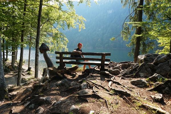 Stille Beschaulichkeit am frühen Vormittag am Toplitzsee