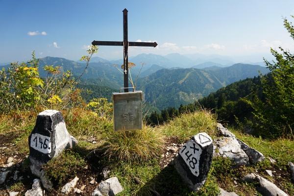 Gipfelkkreuz auf der Tannschwärze