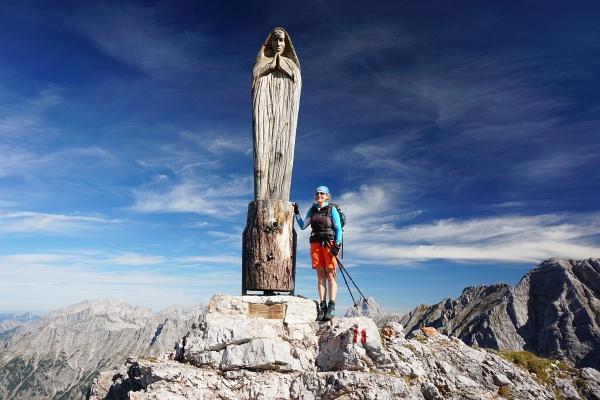 Gipfelzeichen am Persailhorn