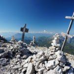 Gipfel Nummer 3 - die Kreuzspitze