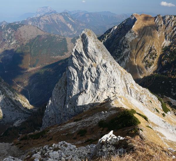 Hangender Kogel im Toten Gebirge. Eher ein exotischer Wandergipfel.