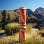 Ein Ermangelung eines Gipfelzeichens auf der Giglachalmspitze haben wir unser traditionelles Kennzeichen erbaut.