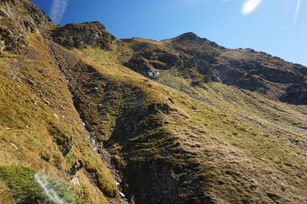 Abstiegsmöglichkeit von der Grobfeldspitze?