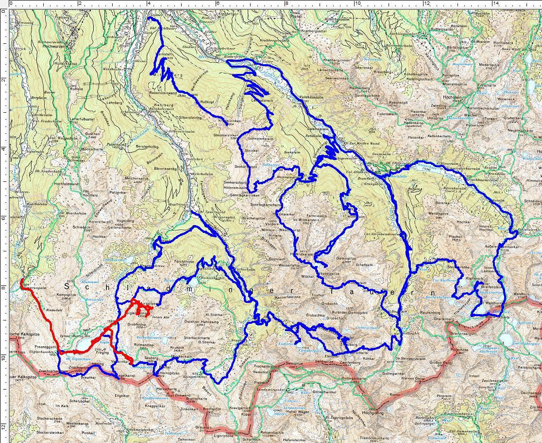 11 Jahre - 11 Touren. Häufig exotische Wanderziele im Umfeld von Rohrmoos.