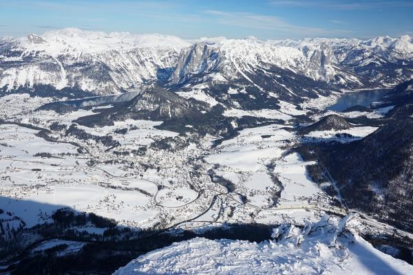 Altausseer See (links) und Grundlsee (rechts)